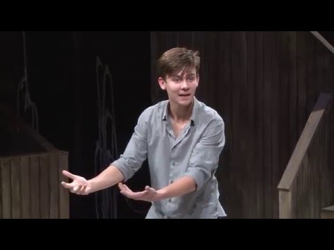 2016 ESU National Shakespeare Competition Finals, Ari Dalbert (1st Place)