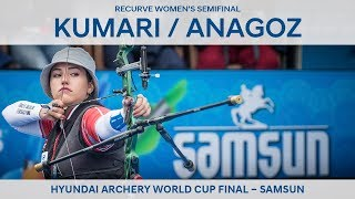 Deepika Kumari v Yasemin Anagoz – recurve women's semifinal | Samsun 2018