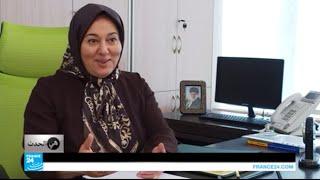 """""""ملكة النقليات"""" رئيسة شركة في الجمهورية الإسلامية الإيرانية!"""