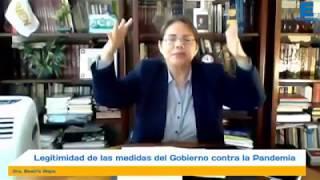 Dra Beatriz Mejia denuncia a presidente Vizcarra por obedecer a mafia globlalista ONU delincuente