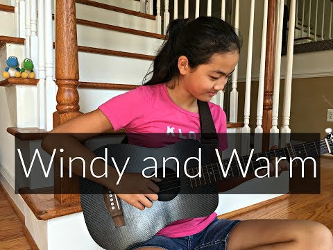 Windy and Warm by John Loudermilk | Fingerstyle Guitar Cover by Lanvy