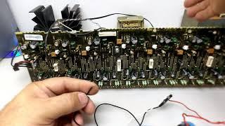 Fonte Simétrica a partir de Transformador com 2 fios? Sim, é Possível !