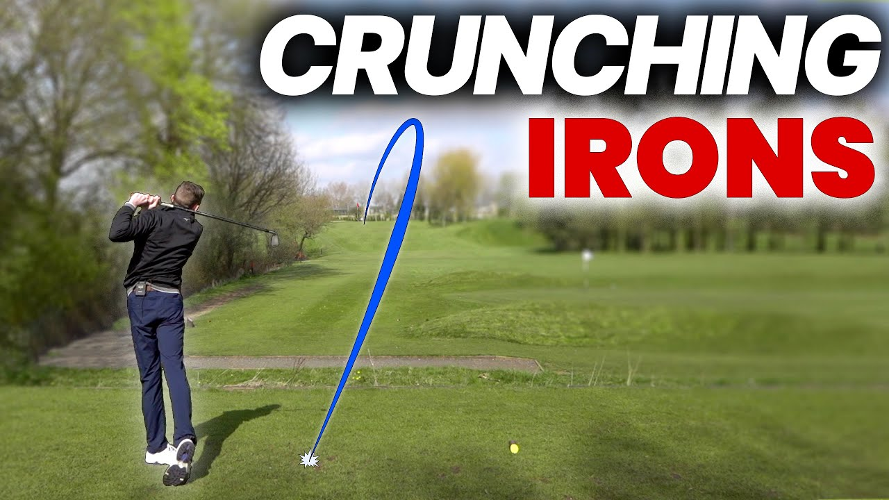 YOUNG GOLFER JUST CRUSHES HIS IRONS - WHAT A PLAYER!