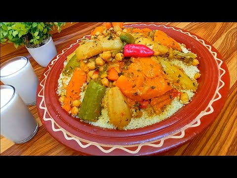 couscous-recipe-with-vegetables---one-of-the-most-delicious-dishes-in-moroccan-cooking