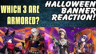 Halloween Banner Reaction! The Land's Bounty! New Flying Healer!