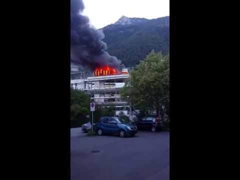 Brand in Vaduz
