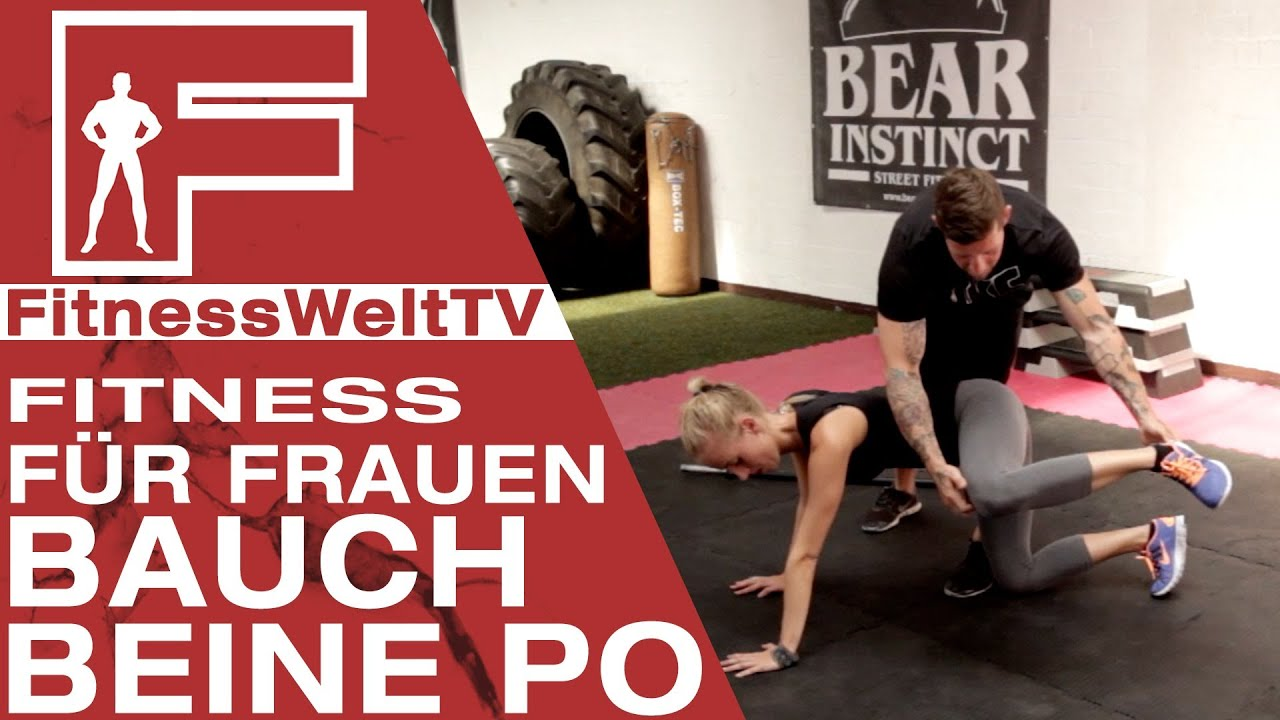 bauch beine po training f r zuhause das super workout f r frauen jochen youtube. Black Bedroom Furniture Sets. Home Design Ideas