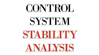 STABILITY ANALYSIS  CONTROL SYSTEM  DMRC  BSNL JE TTA  GATE