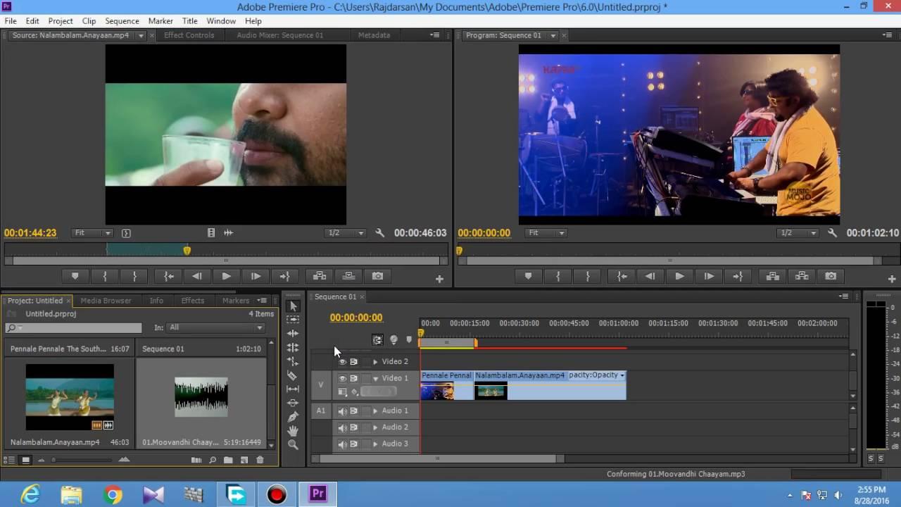 Video Editing tutorial (Adobe premiere pro CS6) part 1 ...