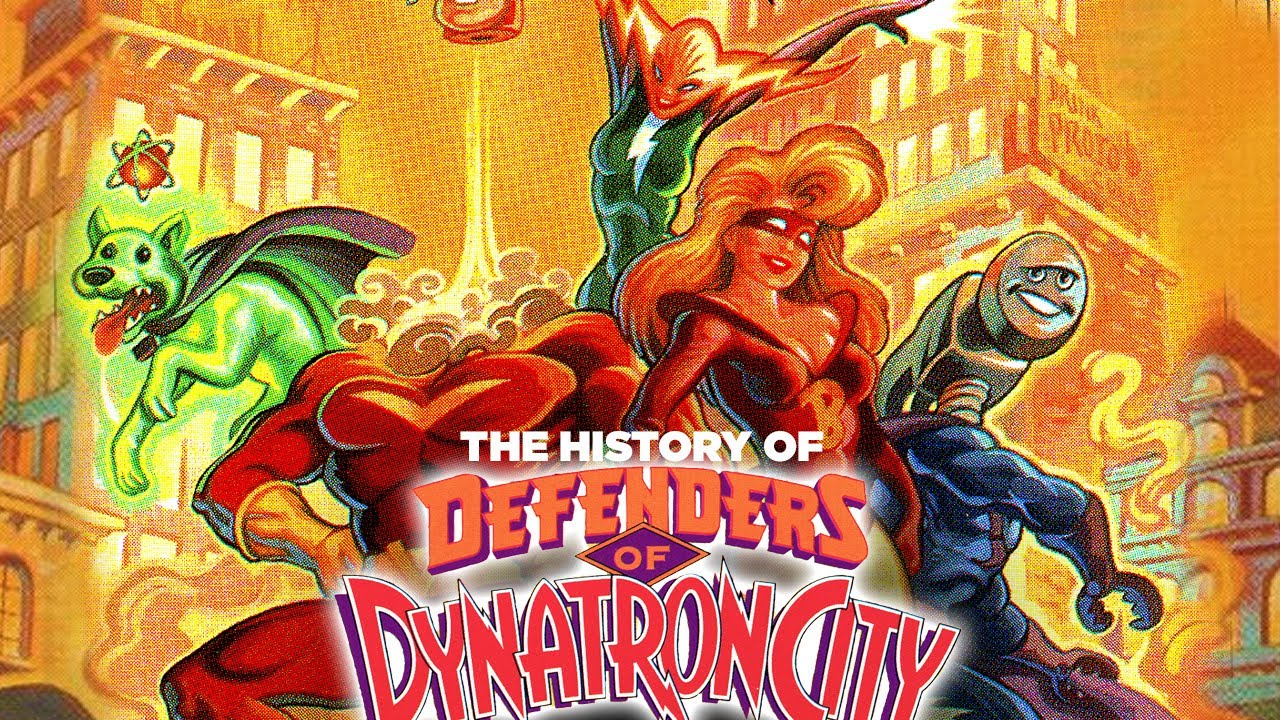 LucasArts Big Fail: The Defenders of Dynatron City - Doomed By A Bad Game?