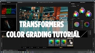 Transformers Hollywood Look - Color Grading Tutorial - Magic Bullet Looks + Luts (German)