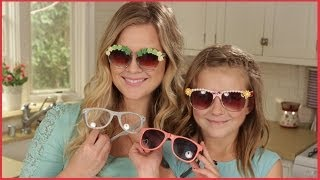 DIY: Embellished Sunglasses!!