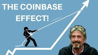 The Coinbase Effect & John McAfee News - Today's Crypto News thumbnail