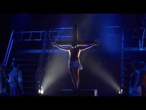 The crucifiction from Jesus Christ Superstar WOS, Weymouth Pavilion