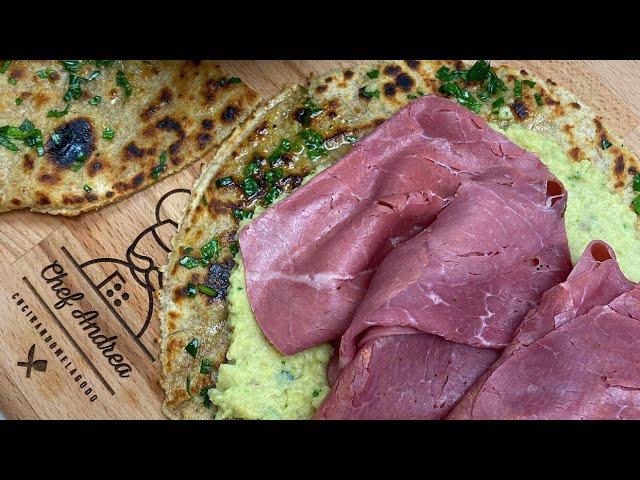 Ricetta Hummus Greco.Pita Con Yogurt Greco E Hummus Ricetta Espressa Youtube