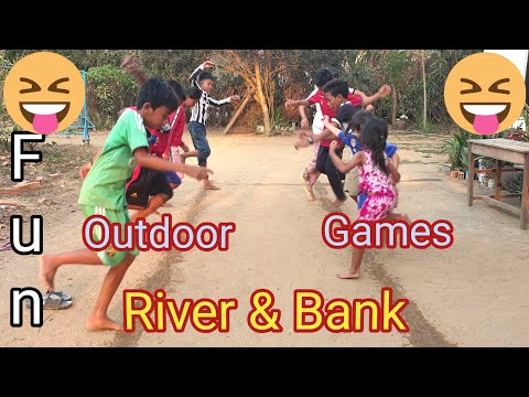 River & Bank   Minute To Win It   Fun Outdoor Games