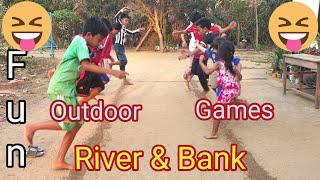 River & Bank | Minute To Win It | Fun Outdoor Games