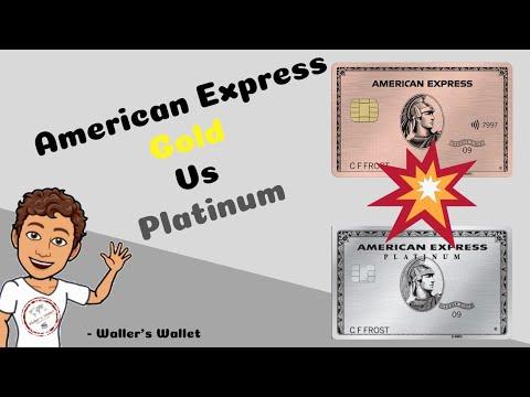 American Express Gold Vs Platinum | Waller's Wallet
