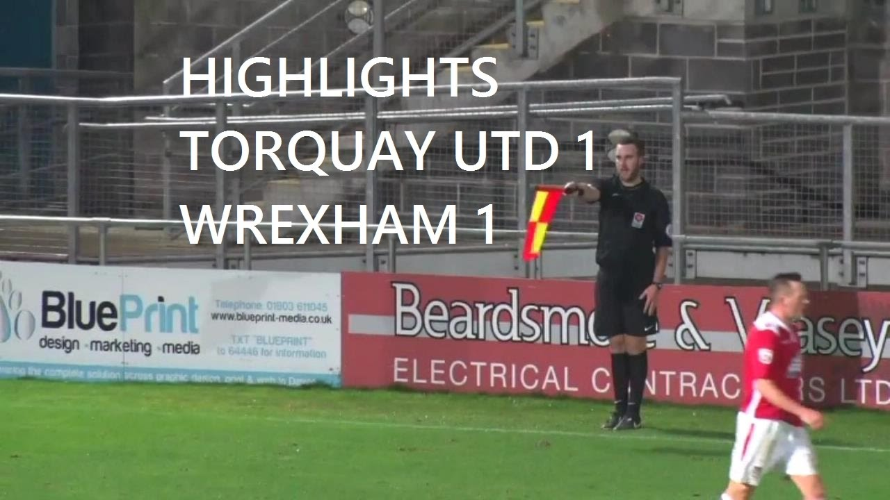 Goals torquay united 1 wrexham afc 1 youtube goals torquay united 1 wrexham afc 1 malvernweather Image collections