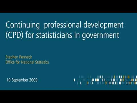 Professional statistical standards