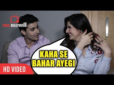 Zareen Khan Making Fun of Gautam Rode Kaha Se Bahar Aayegi