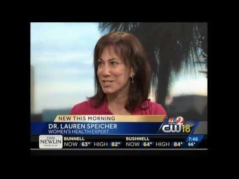 Dr. Lauren Streicher visits WESH-TV for Women's Health Issues