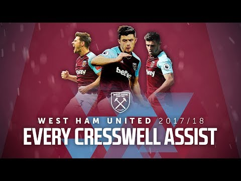 EVERY CRESSWELL ASSIST | 2017/18