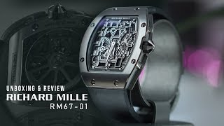 RICHARD MILLE RM67-01 Titanium Extra Flat | Unboxing & Review Indonesia