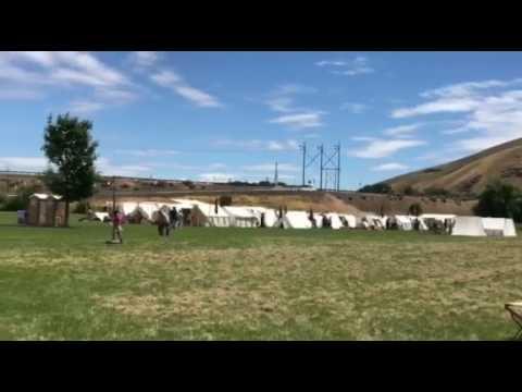 Civil War re-enactment at Union Gap's Old Town Days