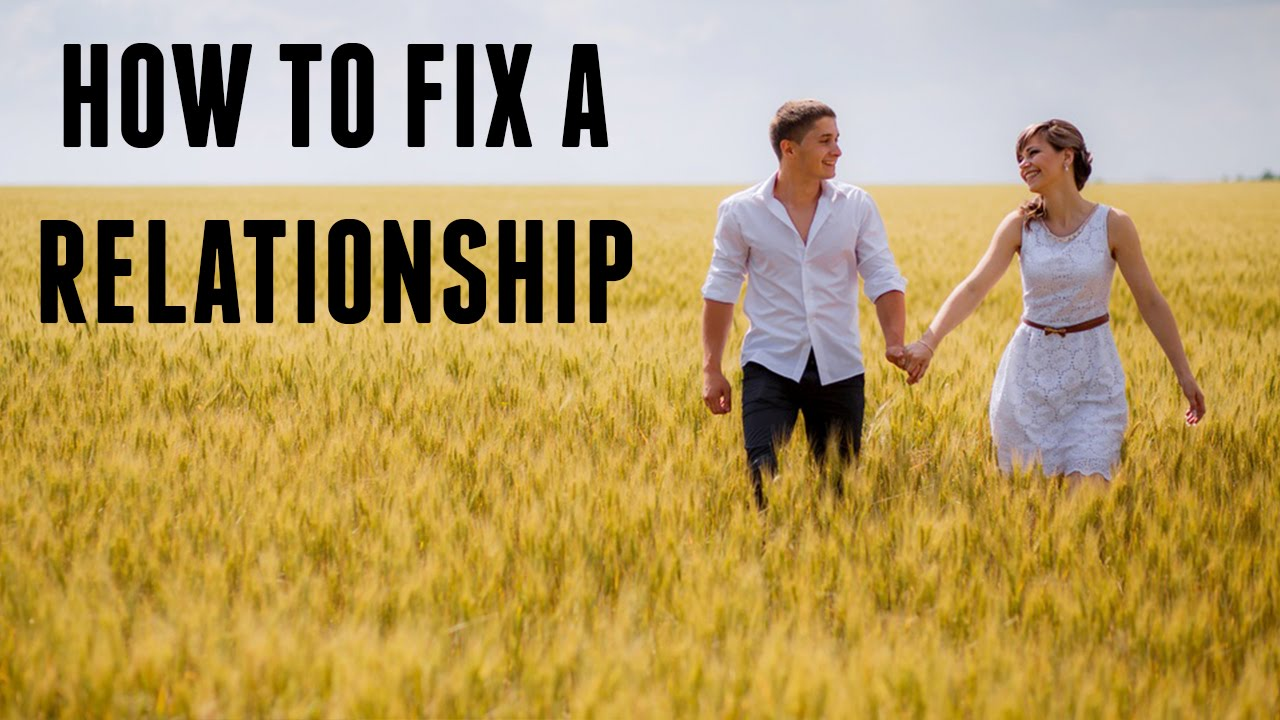 Fix A A Fight To How After Relationship