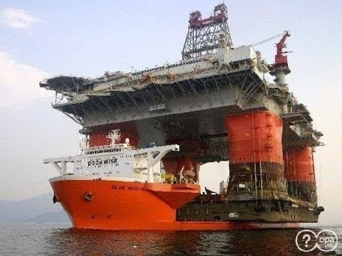 The World's Largest Deep Ocean Oil Patch Explorer Vessel