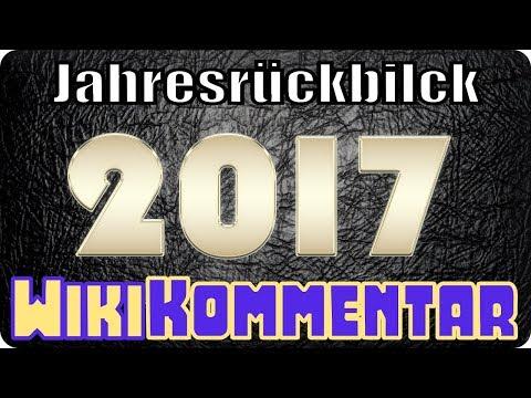 Jahresrückblick 2017 - mein WikiKommentar #64