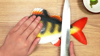 Fish Tears - Lego In Real Life / Sushi Stop Motion Cooking & ASMR