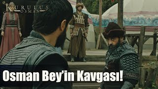 Osman Bey ve Savcı kozlarını paylaşıyor - Kuruluş Osman 30. Bölüm