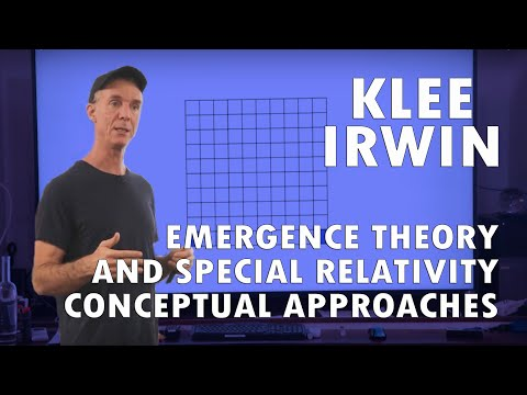 Emergence Theory and Special Relativity: Conceptual Approach