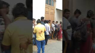 99movie crowd in Mysore Golden star ganesh Bhavana Preetham gubbi Arjun janya