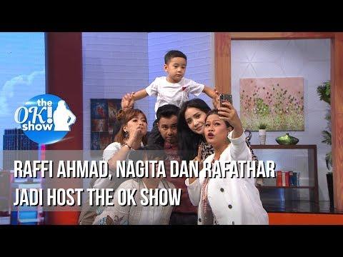 THE OK SHOW - Raffi Ahmad Nagita Dan Rafathar Jadi Host The Ok Show [15 Januari 2019]
