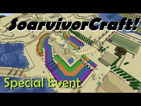 SoarvivorCraft! - Riverside Raceway at Tall Cacti & Marbleton! - (Ep45) - Minecraft 1.13!