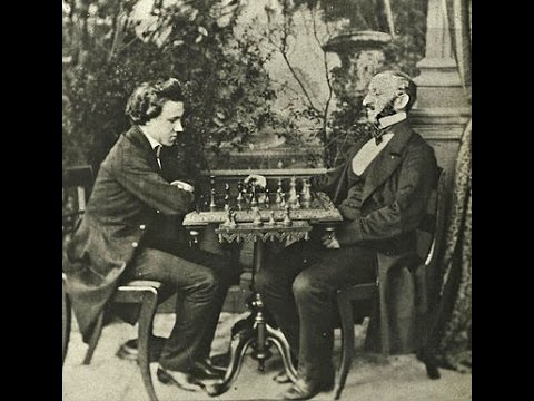 Paul Morphy vs Johann Jacob Loewenthal II - New Orleans - 1850