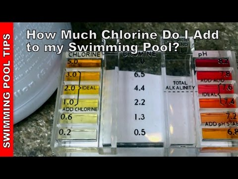 How Much Chlorine do I Add to My Pool? - YouTube