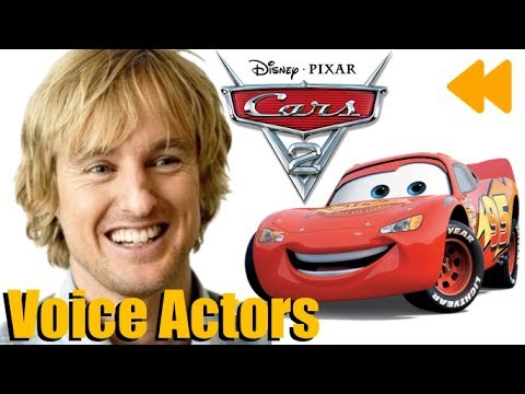 cars 2 voice actors and characters youtube
