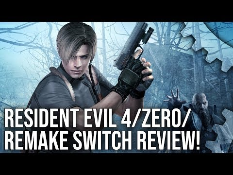 Resident Evil 4, Remake and Zero on Nintendo Switch are competent ports of brilliantgames