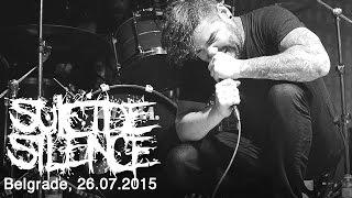 SUICIDE SILENCE Live In Belgrade Serbia 26 07 2015