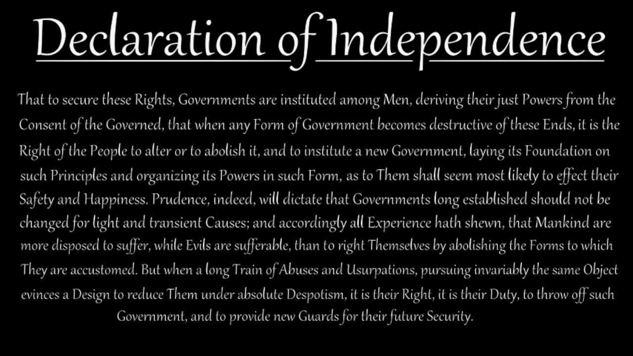 the declaration of preamble - The Declaration Of