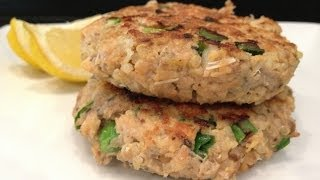 Quinoa Salmon Patty Recipe