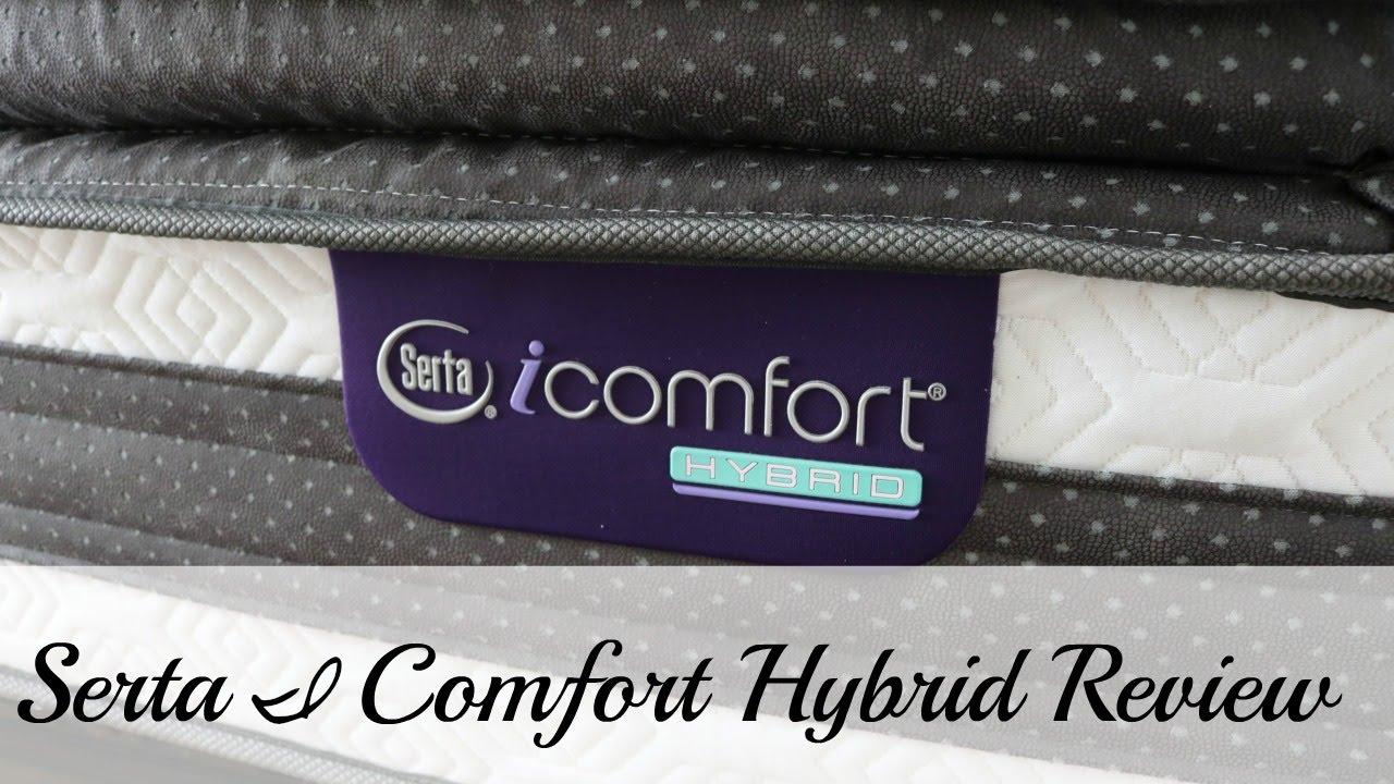 Serta I Comfort Hybrid Mattress Review Observer Pillow Top