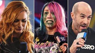 Triste Becky Lynch Preocupación con Asuka Cesaro vs Roman Reigns Buddy Murphy vuelve a NXT