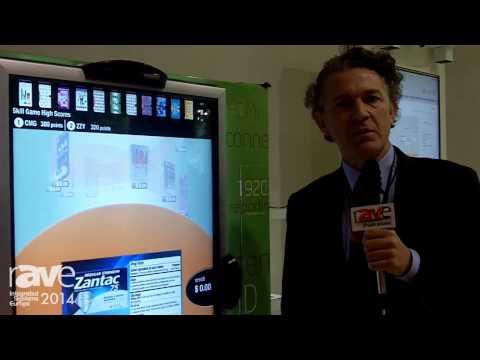 ISE 2014: Grassfish Demonstrates Interactive Vending Machine
