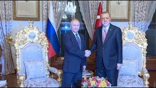 Turkish, Russian Leaders Inaugurate Sea Section of TurkStream Pipeline