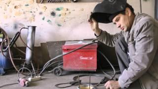 Грибок на вытяжную трубу,размер чудо печки(В этом ролике я показал как из подручных материалов можно сделать грибот на трубу вытяжки.И дал размеры..., 2013-10-09T02:47:25.000Z)